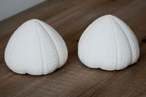 Sea urchin salt and pepper set from Milk and Honey