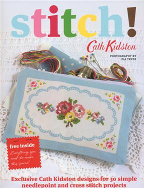 Cath Kidston Stitch! book with free gift