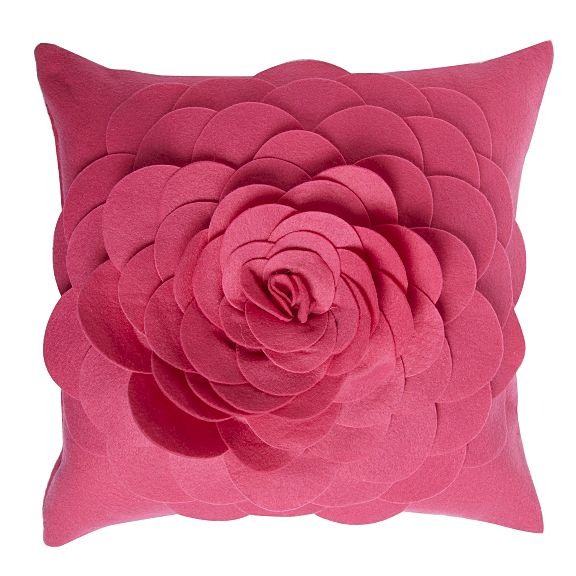 Half price 3d flower felt cushions at debenhams cosy home blog bargain price reduced cushions mightylinksfo