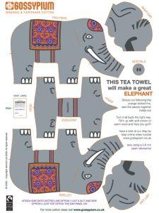 Make an elephant soft toy
