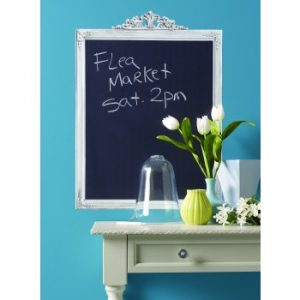 Elegant chalkboard wall sticker frame
