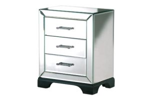 Wonderful mirrored Gatsby side table with 55% off