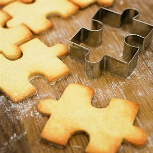 Exclusive jigsaw biscuit cutter