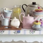 Vintage Tea Party china collection from The Orchard