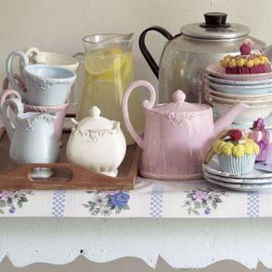Host a vintage tea party