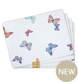 Butterfly dining tableware place mat
