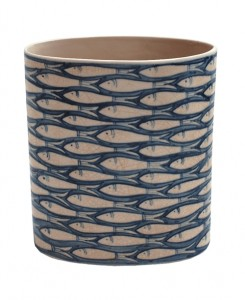 Bargain alert: blue fish vase from Also Home