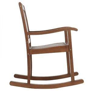 Outdoor garden wood lounger chair