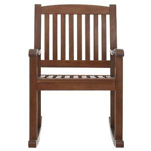 Eucalptus wood garden rocking chair