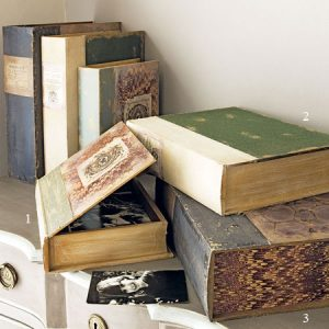 Vintage box file home office storage
