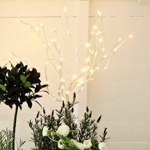 Decorative light up ornamental tree