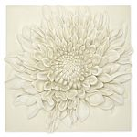 Large cream flower wall tile from Laura Ashley