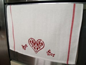 Handmade tea towels from Nordic Touch