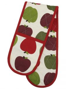 Bargain alert: Rosy apple double oven glove