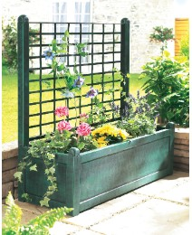 Garden trellis for climbing plants