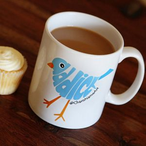 Twitter Addict personalised mug