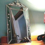 Mini Venetian mirror from Rose & Grey