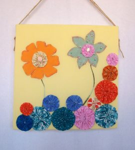 Handmade recycled fabric picture by Original Cloth