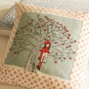 Belle and Boo Mandy Sutcliffe illustrated textile designs