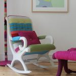Melanie Porter Rosy knitted rocking chair