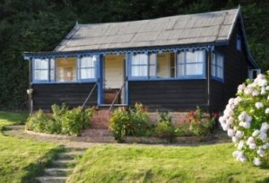 Wooden self-catering chalet cottage