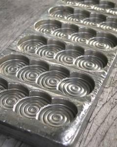 Vintage chocolate mould