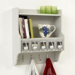 Five scoop kitchen storage unit