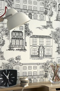 Little Greene British heritage wallpaper
