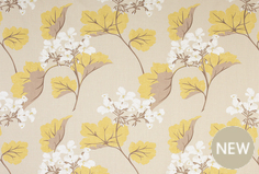 Blind and curtain fabric from Laura Ashley
