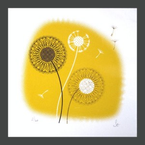 Limited edition art print by Sally Elford