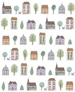 Mary Kilvert design home interior wallpaper
