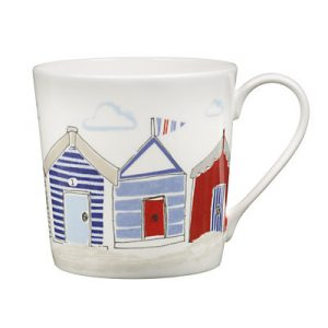 Seaside china mugs from John Lewis