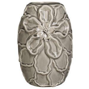 Brissi Lola floral vase in taupe