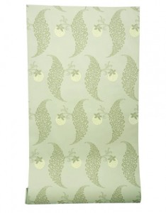 Green Farrow and Ball wallpaper