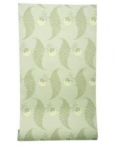 Green Farrow and Ball wallpaper