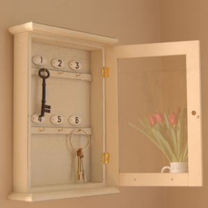 Key cupboard from Velvet Brown