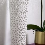 Ceramic Georgette table lamp from Monsoon