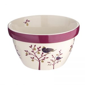 Partridge in a Pear Tree pudding basin