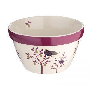 Christmas pudding bowl