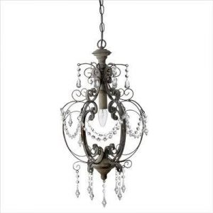 Antique style chandelier from Ebury Home and Garden