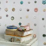 Vintage button wallpaper