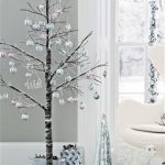 Snowy paper tree from Next