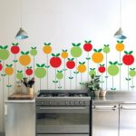 Colourful Pom wall sticker by Ich and Kar