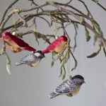 Designers Guild vintage style bird decorations