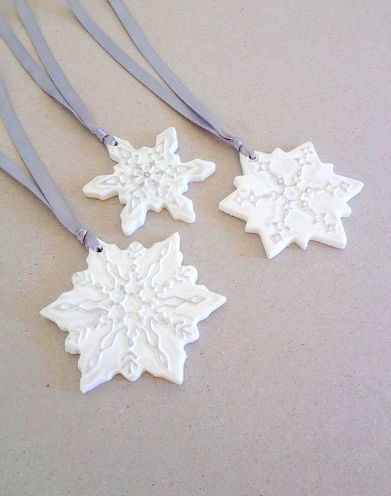 Polymer Clay Christmas Tree Decorations.Handmade Clay Christmas Decorations Cosy Home Blog