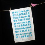 Michelle Mason Home organic cotton tea towel