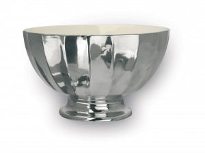 Bargain buy: Miss Etoile large silver ceramic bowl