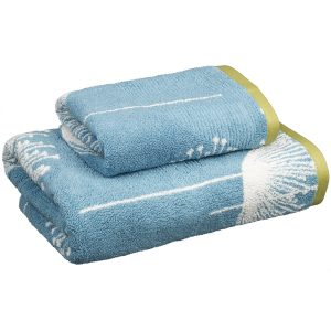 Sanderson Dandelion Clocks towels half price