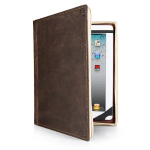 Keep your ipad secure in a vintage book