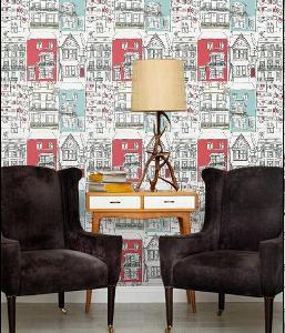 Funky designer wallpaper ideas